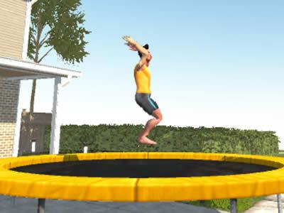 Flip Master - Trampoline Game
